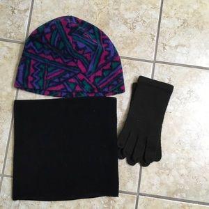 4 for $20 Hat/Gloves/Neck Gaiter bundle